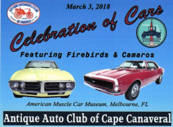 Antique Automobile Club Of Cape Canaveral Show - American muscle car show 2018